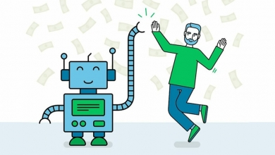 تصویر از ربات مشاور ، رقیب مشاورهای انسانی!