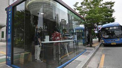 تصویر از ایستگاههای هوشمند اتوبوس؛ «سپری علیه کرونا»