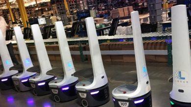 تصویر از سرمایهای که از ربات های انباردار جمع شد!